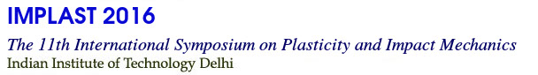 111th International Symposium of Plasticity and Impact Mechanic